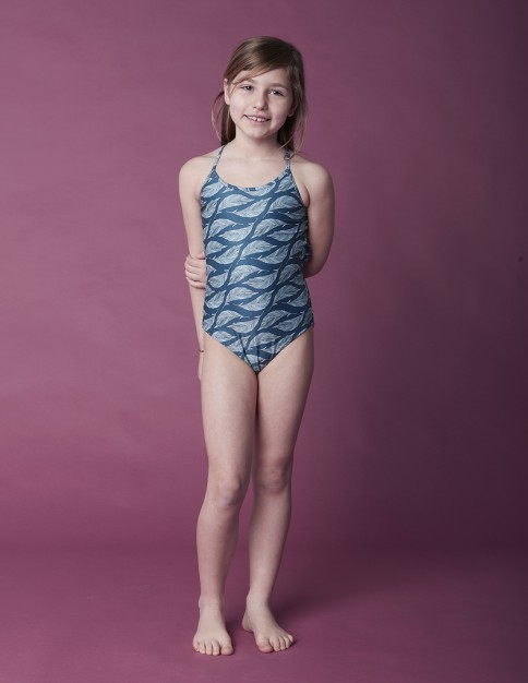 Girl Swimsuit - Feather