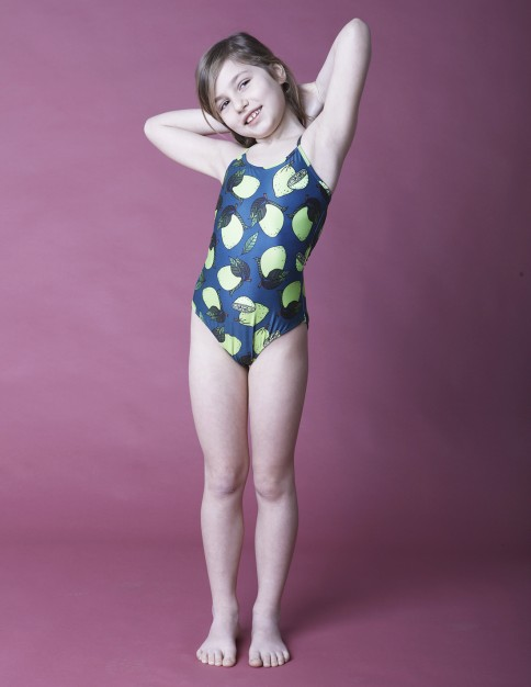 Girl Swimsuit - Lime