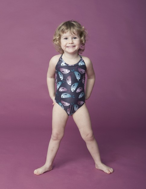Girl Swimsuit - Pesci